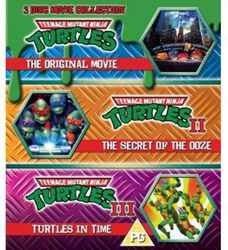 Teenage Mutant Ninja Turtles - The Movie Collection - 3 Disc Set (Teenage Mutant Ninja Turtles/Secret Of The Ooze/Turtles In Time) (Blu-ray) [Reino Unido] [Blu-ray]