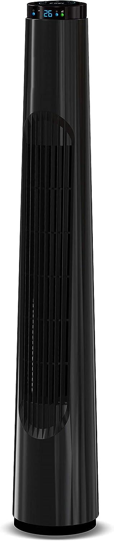 Ardes AR5T85R Negro - Ventilador (Negro, Piso, 8 h, 1,6 m, 40 W, 140 mm)