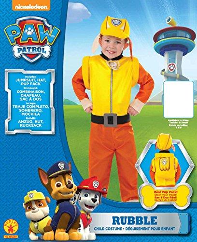 Rubies 's–Disfraz de oficial Paw Patrol Escombros Mono