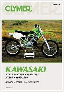 Clymer 82-91 Kawasaki KX250 Service Manual