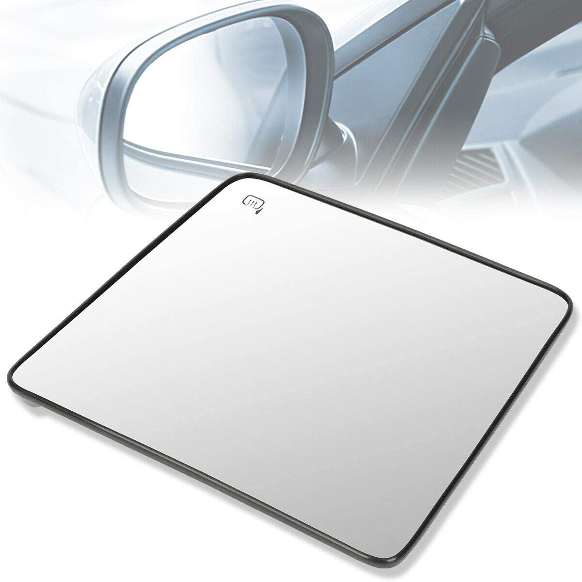 TNNY Super sale Left Heated Upper Glass Towing DL3Z17K707B At the price Mirror