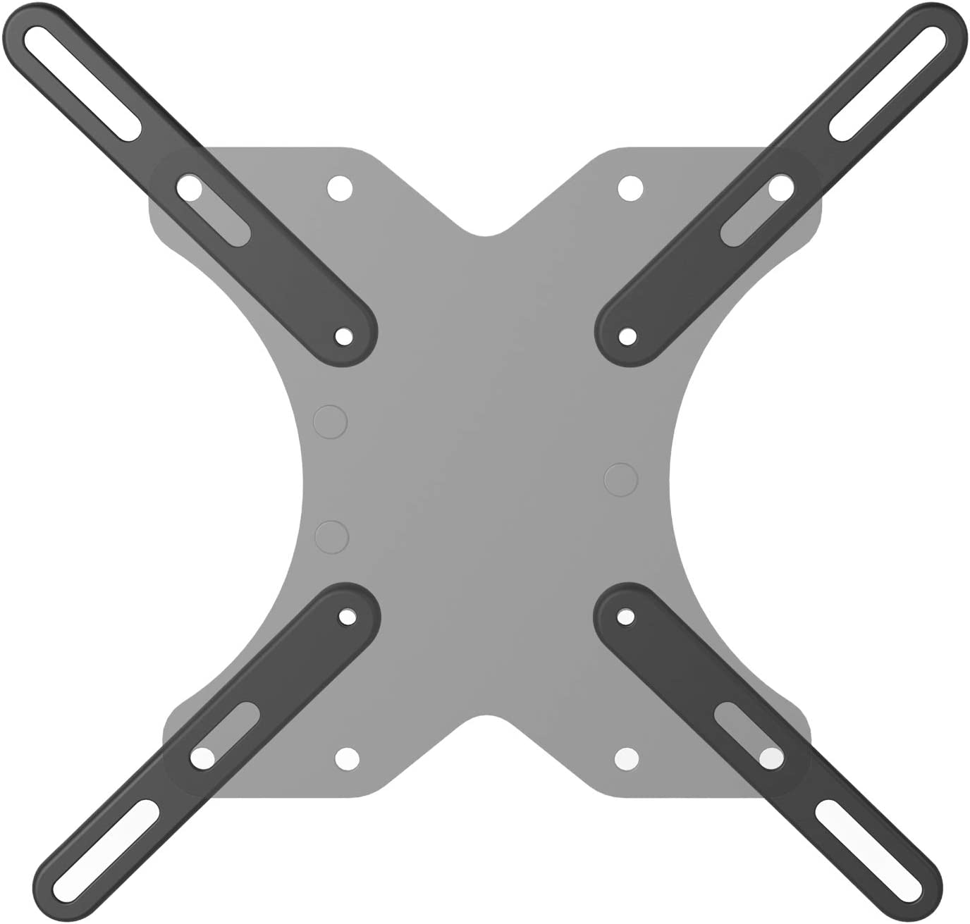 WALI Rapid rise Extender Bracket Adapter half TV Monitor Accessory Mounting for