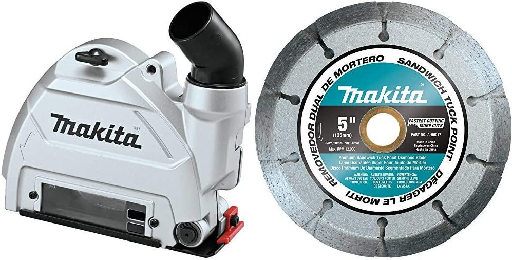 Makita 196845-3 Product Oakland Mall 5 Inch Dust Extraction Point Tuck with A- Guard