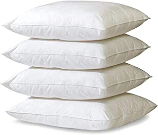 Purelux Set of 4 Gel Memory Foam Comfort Pillows