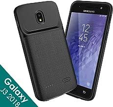 NEWDERY Galaxy J3 2018 Battery Case, 4700mAh Galaxy J3 Star Charger Case, J3 Achieve,Galaxy Express,Amp Prime 3,Galaxy J3 V 3rd Gen,J3 Orbit,J3 Aura,Sol 3 Charging Case for Samsung J3 2018(Black)