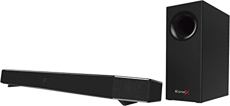 Sound BlasterX Katana Multi-Channel Surround Gaming and Entertainment Soundbar - Hardware Processing, Dolby Digital, and Bluetooth Enabled