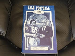1976 YALE COLLEGE FOOTBALL MEDIA GUIDE EX-MINT BOX 13