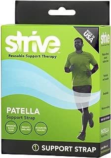 Strive Strive Patella Support Strap | Knee Stabilizer | Adjustable & Customizable for Men or Women