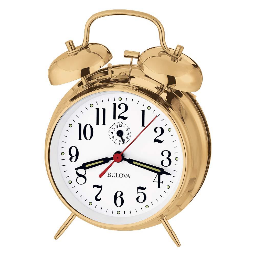 Bulova B8124 Bellman Clock Finish