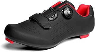 UPON HIKING Mens Road Cycling Shoes