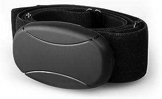 Cinturón de pecho Bluetooth 4.0 y ANT y 5 kHz sin codificar para RUNTASTIC, WAHOO, aplicación Strava, para Android como Samsung S3 / S4 / S5 / S6 / S7 / S8 / S9 / S10, Sony, LG, HTC, Google pulsómetro