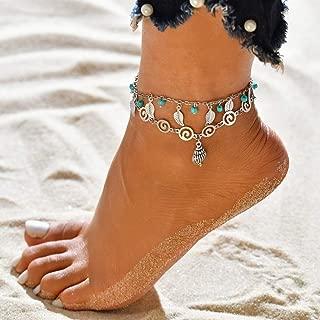 Donna dArgento Placcato della Farfalla del Cuore cavigliere Catena di Braccialetto di Caviglia del Piede Gioielli Beachwear Regard L