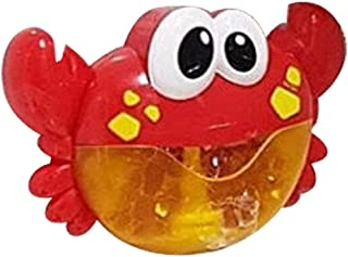 Lovely Cute Bubble Crabs Baby Bath Toy Funny Bath Bubble Maker Pool Swimming Bathtub Soap Machine Toys for Children Kids