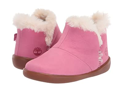 Timberland Kids Tree Sprout Warm Lined Bootie (Infant/Toddler) (Medium Pink Suede) Kid