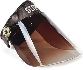 Women's Solar Face Shield Cap Visor Sun Cover Hat Anti-UV Summer Hat