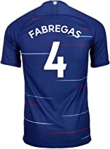 Nike Fabregas #4 Chelsea Home Soccer Youth Jersey 2018/19