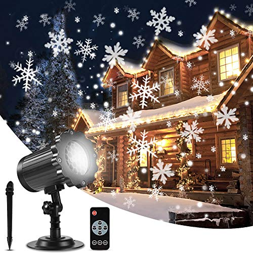 10 best snowflake projector lights with remote for 2020