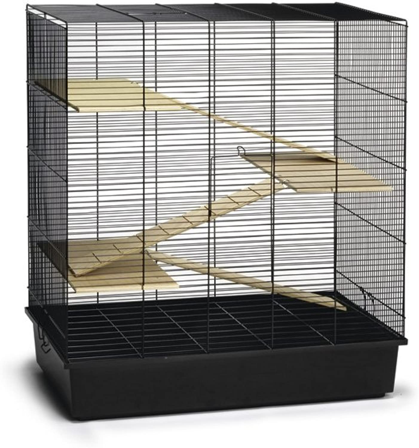 Beeztees Rodent Cage Scooby, 70 x 40 x 78 cm, Black