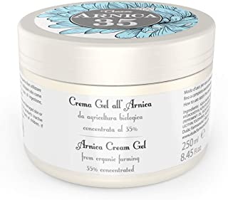 Dulàc - Gel crema a base de árnica concentrada al 35% - 250 ml - LA MÁS CONCENTRADA - 100% Made in Italy - Arnica 35