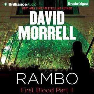 Rambo audiobook cover art