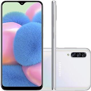 Celular Samsung Galaxy A30s 64gb Câmera Tripla 25mp + 5mp + 8mp (Branco)