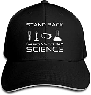 b8e4796c HUDF KDDF Stand Back I'm Going to Try Science Unisex Baseball Cap Dad Hat
