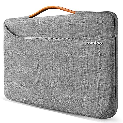 "tomtoc 13 Zoll Laptop Tasche Hülle wasserdicht Laptoptasche für 13"" MacBook Pro 2020-2016, MacBook Air 2020/2019, Surface Pro X/7/6/5/4, Dell XPS 13 Notebook Sleeve Laptophülle Damen Herren"