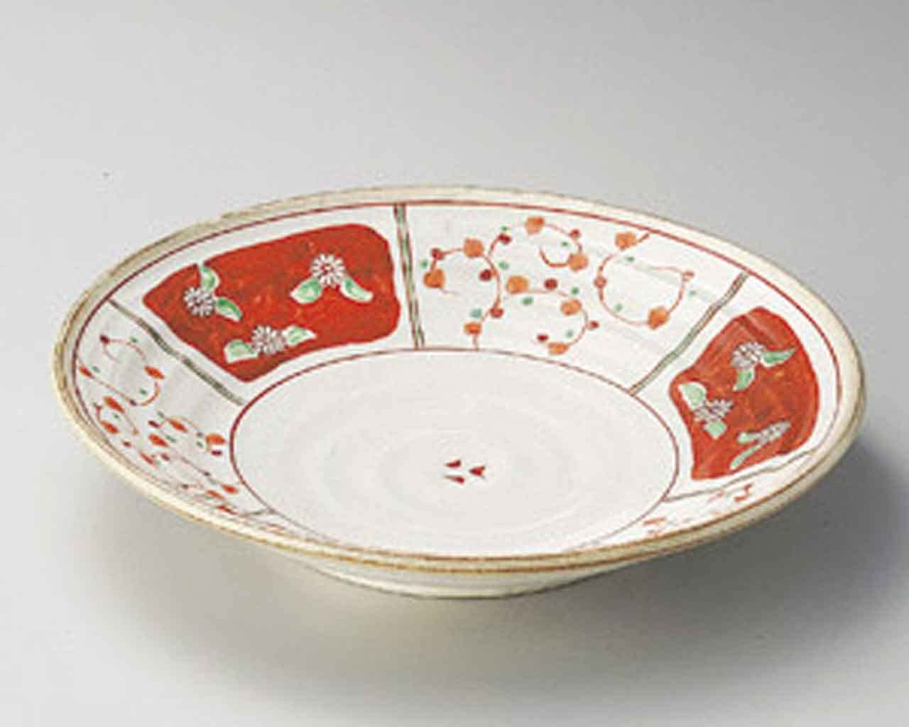 Madori Akae 11.4inch SUSHI Ranking TOP12 PLATE White porcelain in Japan Al sold out. Made