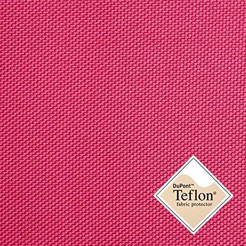 aktivstoffe Breaker Teflon® - Tela Repelente al Agua - A Prueba de Viento - Muy Robusta (Color Cyclam) (por 0,5m)