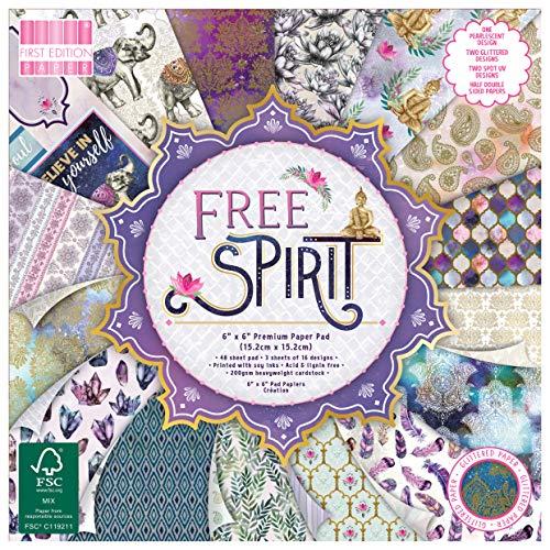 Multicolore First Edition FEPAD191 Prima Edizione Paper Pad x 30,5/cm Multi Colour 1
