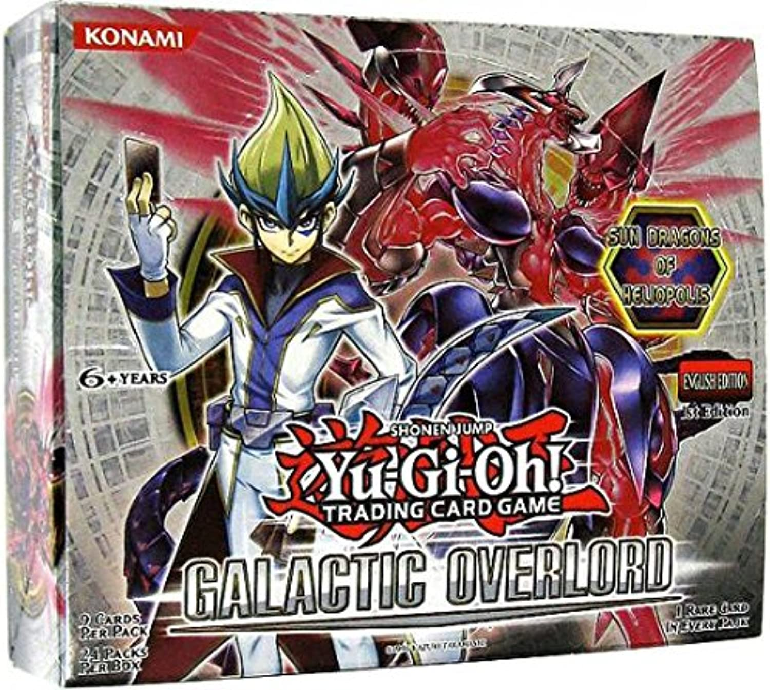 YuGiOh ZEXAL Galactic Overlord Booster Box 24 Packs [Toy]
