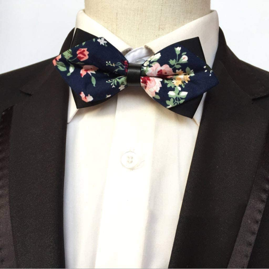GPPZM Sales results No. 1 Mens Bow Tie Red Pointed Gold Fashion and Black Miami Mall Butterfly