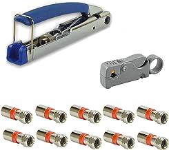 Wählbar:Sat Kabel 120db Abisolier Kompressionszange F-Kompressionsstecker Knebel