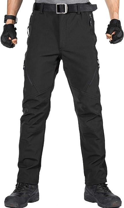 Pantaloni da lavoro da uomo per attività all`aperto pantaloni free soldier B07XFJZLVY