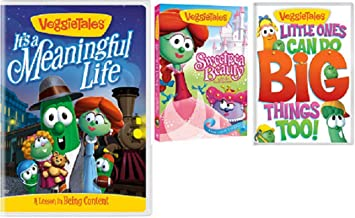 VeggieTales: It`s a Meaningful Life / Sweetpea Beauty / Little Ones Can Do Big Things Too