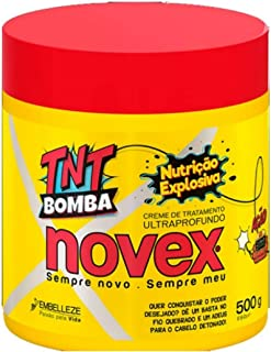 Novex TNT Nutrition Pump Treatment Cream 500g - For damaged, weakened hair, without brilliance and softness.