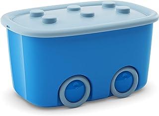 Kis Funny Box Alto L Pudełko do Przechowywania, Plastik, Niebieski, 46l