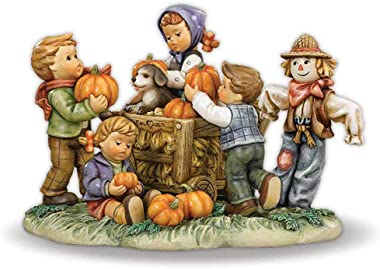 M.I. Hummel Figurine – Happy Harvest - Collectible Figurine - Must-Have for Hummel Collector #5264-0018