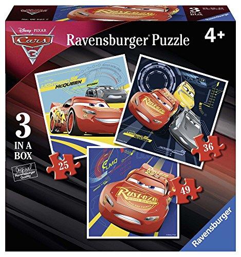 Ravensburger- Puzzle Progresivo, Cars 3 (6925)