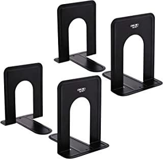 Bookend Supports - Business Source - Black (2 Pairs, Small)
