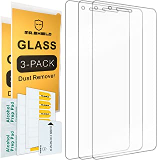 [3-Pack]- Mr.Shield for Huawei P9 Lite [Tempered Glass] Screen Protector [0.3mm Ultra Thin 9H Hardness 2.5D Round Edge] with Lifetime Replacement