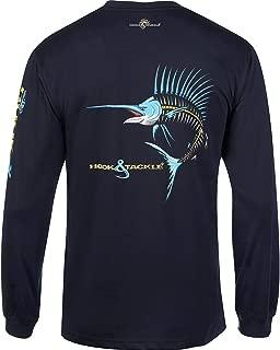 Hook & Tackle® Men's Sailfish Action X/Ray | Long Sleeve | UV Sun Protection | Performance Fishing Shirt