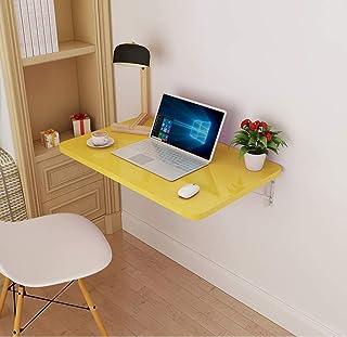 HXCD Table Pliante Table Murale pour Petit Espace, Table de Salle à Manger Pliante Murale de Cuisine Table à Manger Pliant...