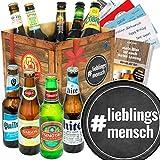 lieblingsmensch/Geschenkset Liebling/Biere aus aller Welt