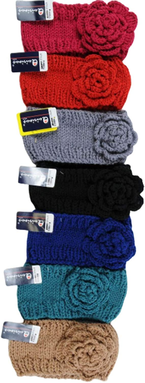 Women's Crochet Winter Headbands - Crochet Headbands