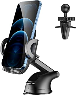$22 » Sponsored Ad - CreaDream Car Phone Mount,Upgraded Long Arm Suction Cup Phone Holder for Car Dashboard Air Vent Windshield,...