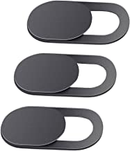 ZORBES Phenovo 0.68 mm Ultra-Thin Aluminium Alloy Web Camera Privacy Cover for Laptop, PC, Smartphones (3 pieces)