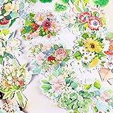 TTBH Kreative süße Kawaii selbstgemachte Blumen Aufkleber Scrapbooking Tagebuch/dekorative...