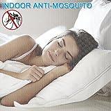 Moskitonetz, yotame rechteckiger Mückennetz für Bett, Reise Moskitonetz Hochwertig Feinmaschig für Doppelbett, Betthimmel für Moskitoschutz, Insektenschutz auf der Reise, Grösse: 230 x 220 x 235 cm - 6