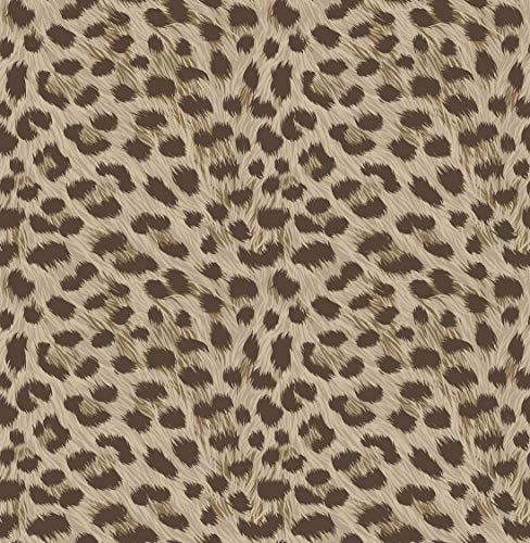 Fine Décor FD42469 Uk Tropica Animal Print Wallpaper Brown Tapete, braun